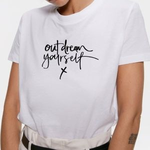 Zara Graphic T shirt, Tee